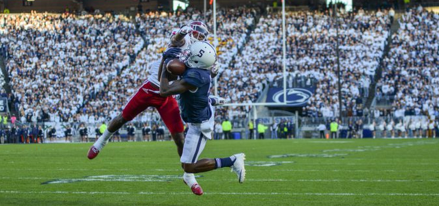 Penn State Football: Hamilton Sets Receptions Record